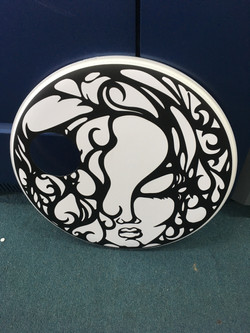 Base Drum Decal