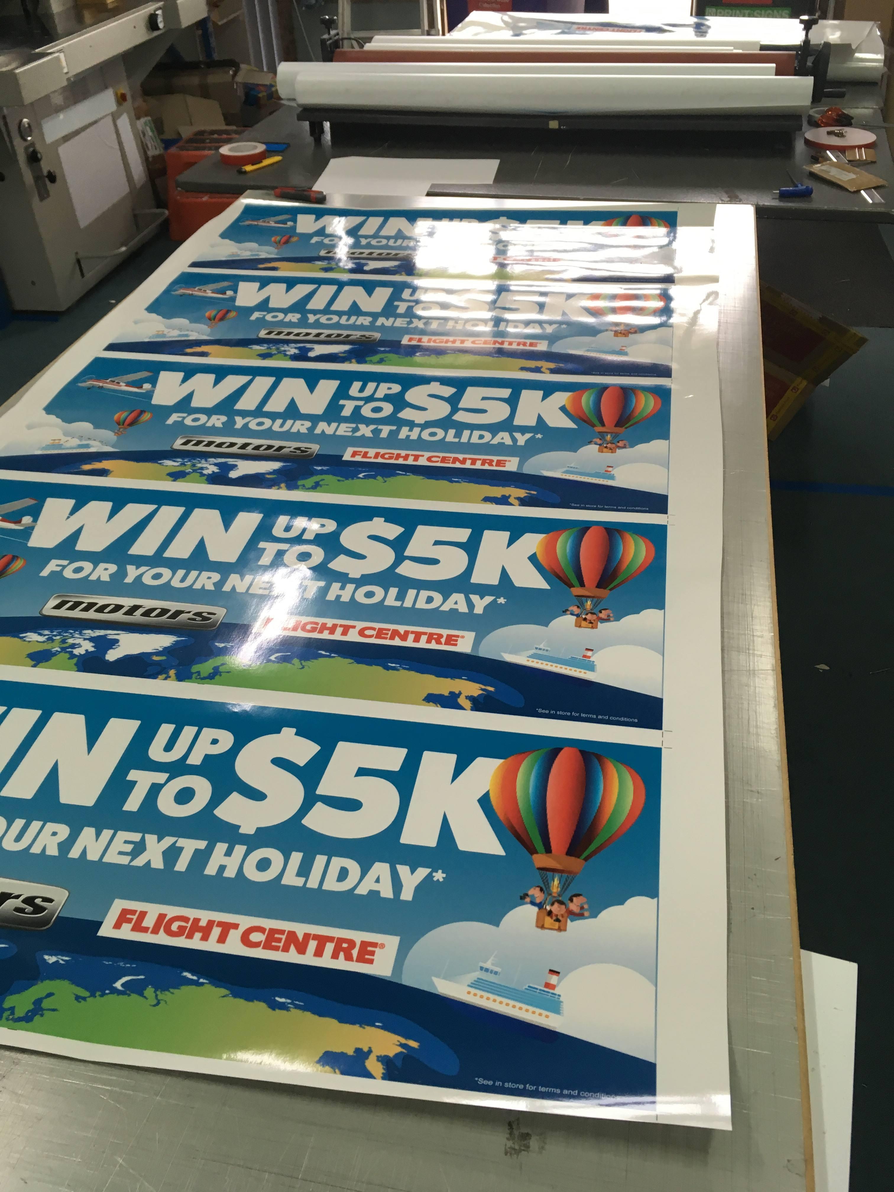 Adhesive Vinyl Banners