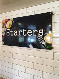 Starters Sign