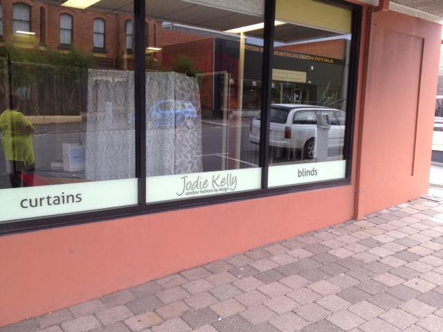 Front Window Signage