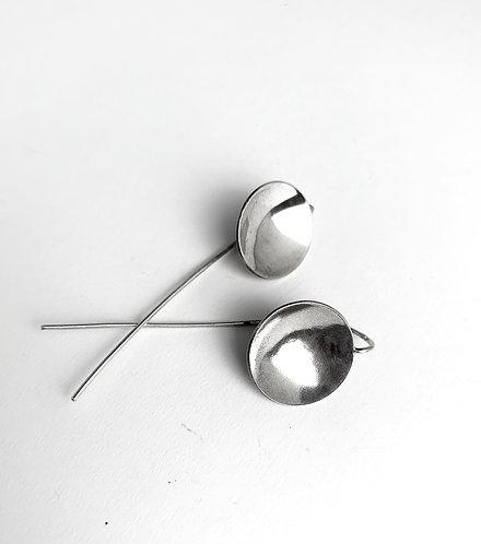 Simple Silver Discs