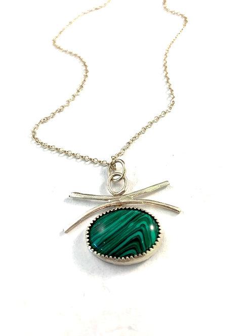Gorgeous Green Malachite Necklace