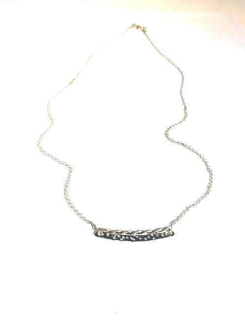 Tiny Silver Necklace