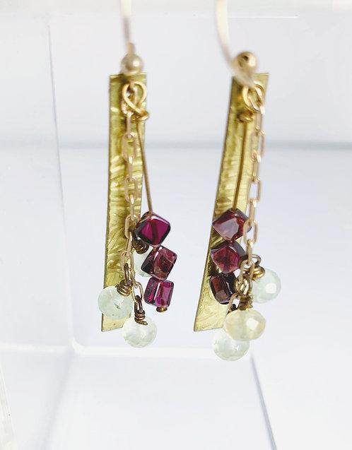 Golden Jewel Earrings