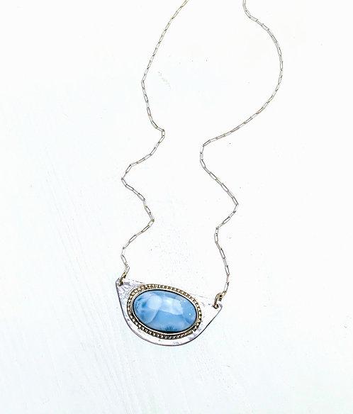 Laramar Oval Stone Necklace
