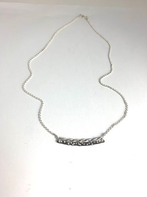 Tiny Silver Necklace