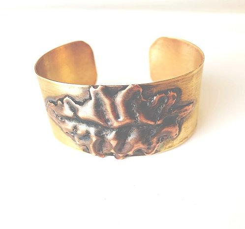 Autumn Leaves -Bronze and Copper Bracelet