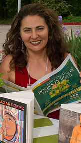 Mohja Kahf at Books in Bloom Festival