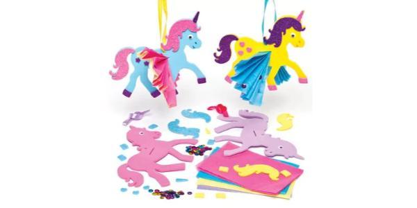 Unicorn-Crinkle-Decoration-Kit