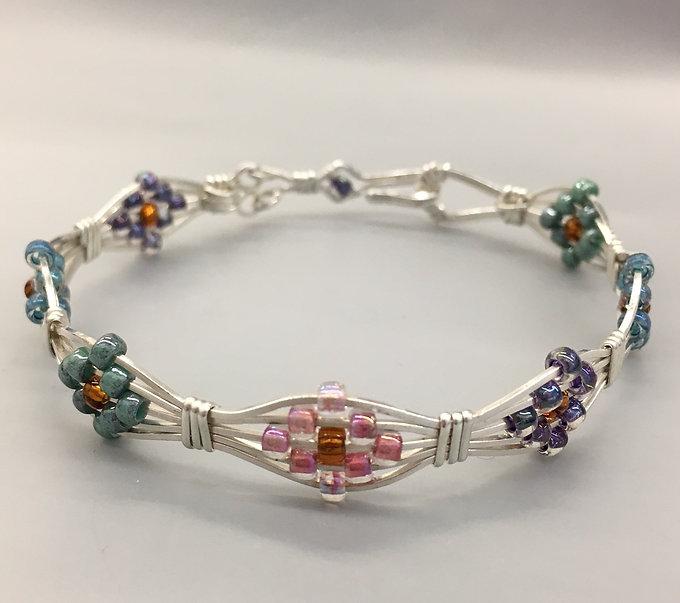 Multi Color Diamond Bracelet.JPG