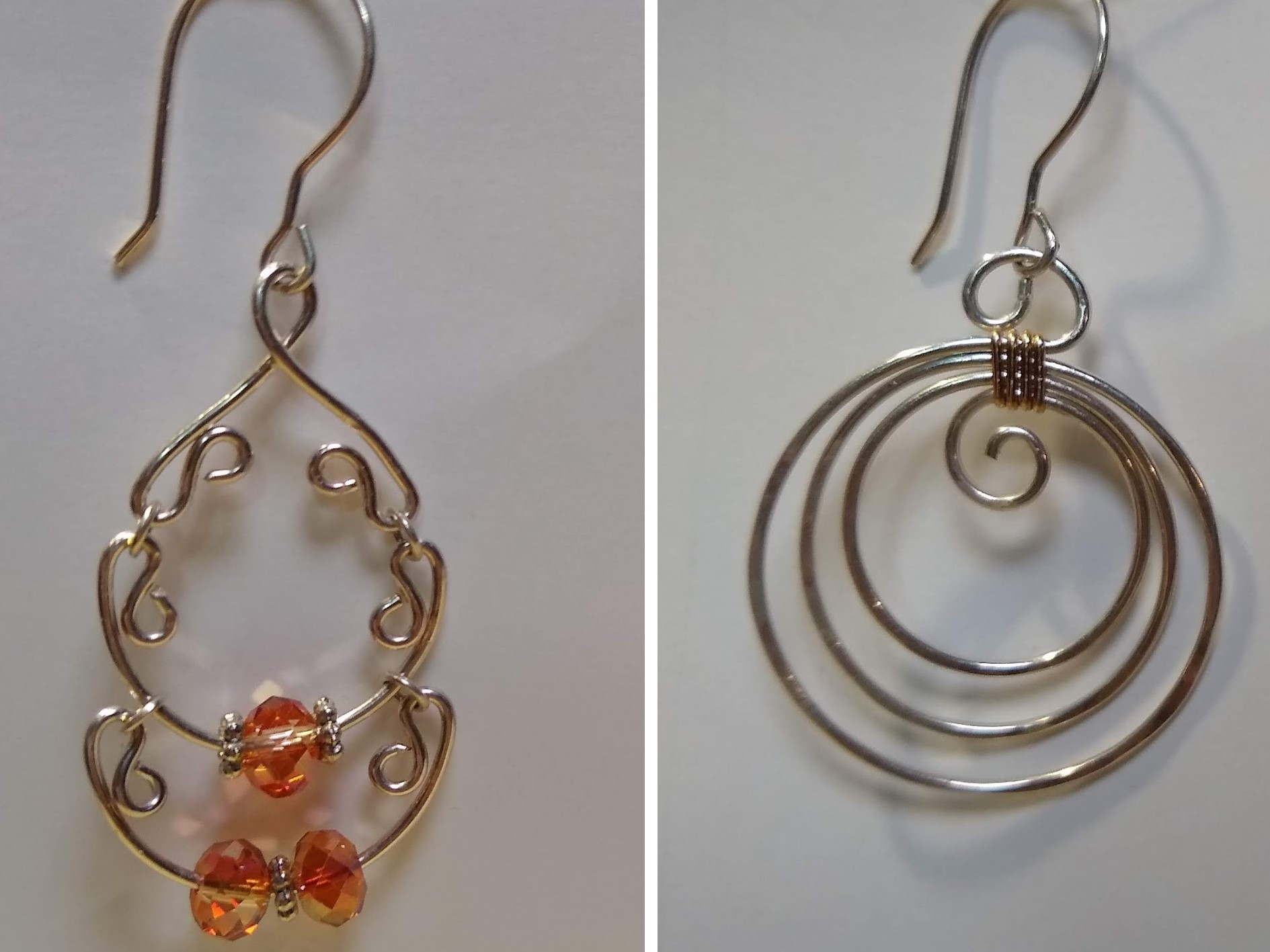 Gypsy and Concentric Earrings