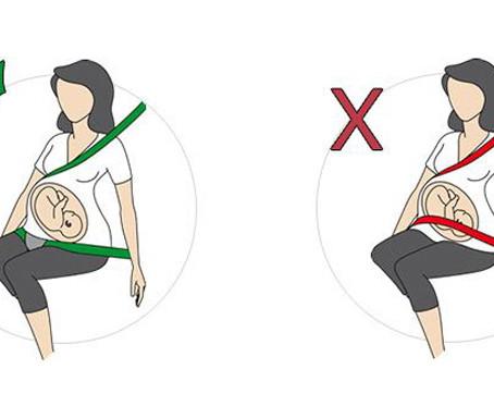 Cinturón de seguridad y mujeres embarazadas