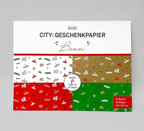 CITY-Geschenkpapier Bonn oder Köln
