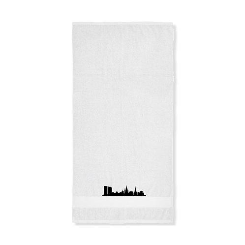 Dusch- oder Handtuch mit Bonner-Skyline - in 2 verschiednen Ausführungen