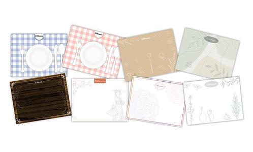Tischsets - verschiedene Motive - ab 1.000 Exemplare