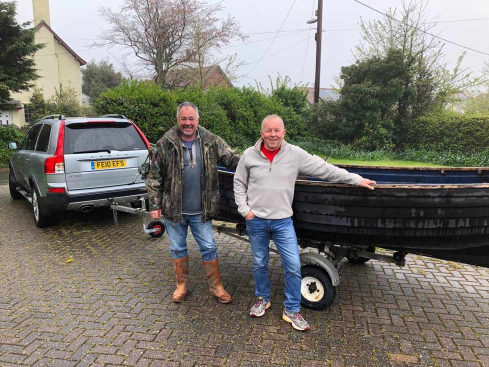 Our new boat and trailer