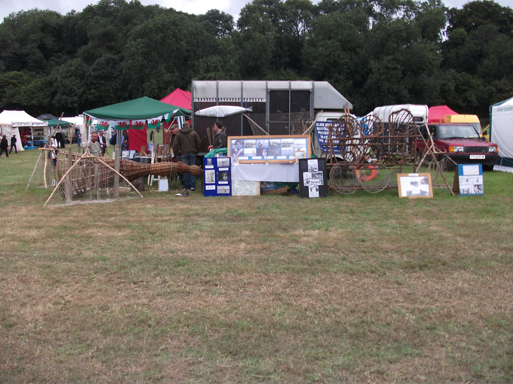 All set up at Chepstow show