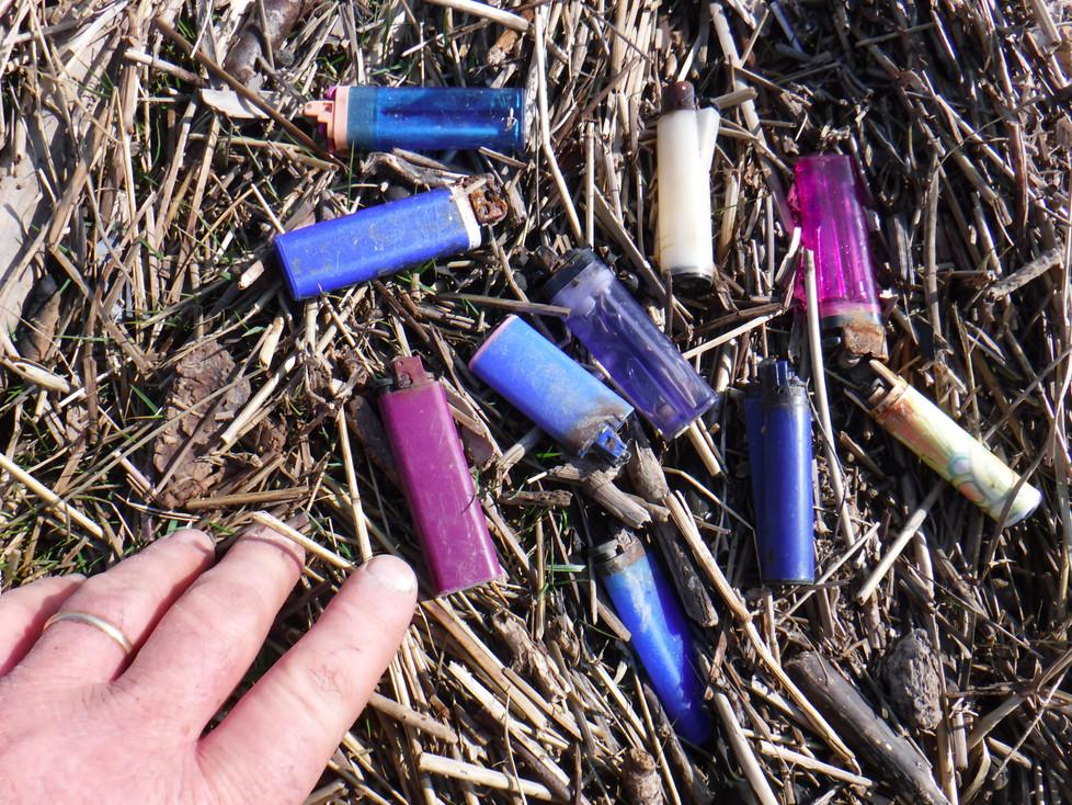 Single use plastic.........