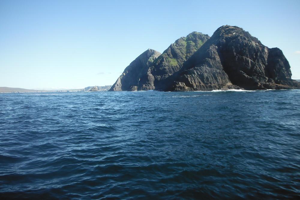 Golden Dawn off puffin island , Kerry.