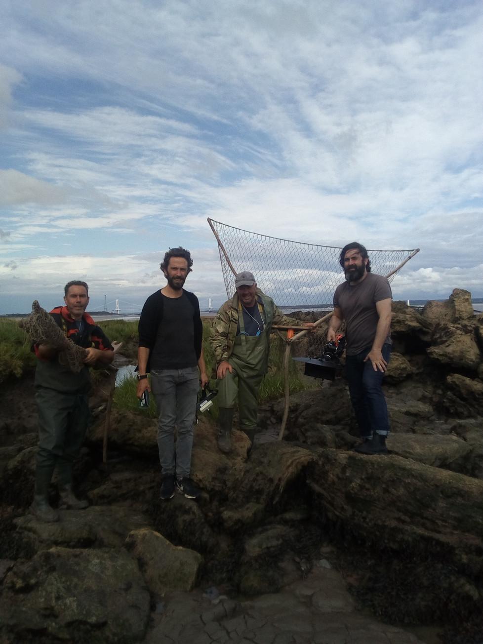 Irish film makers visit Black Rock