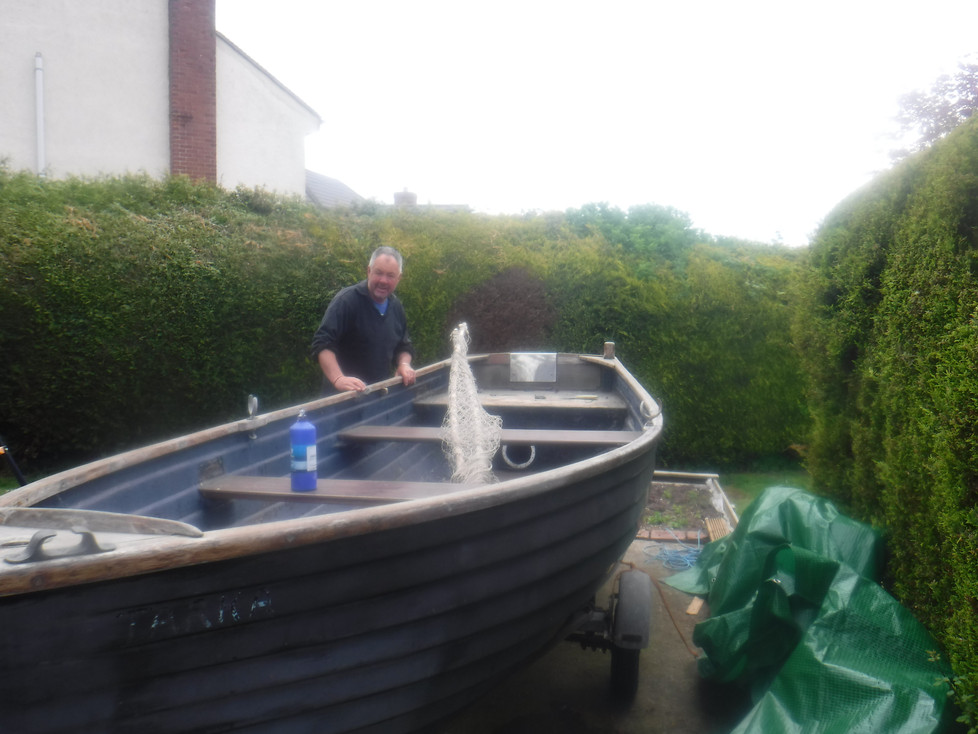 Preparing our boat for the new season
