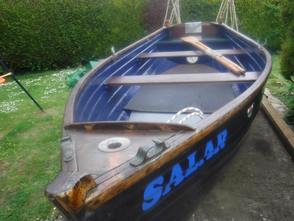 Our new boat refurbished for the season