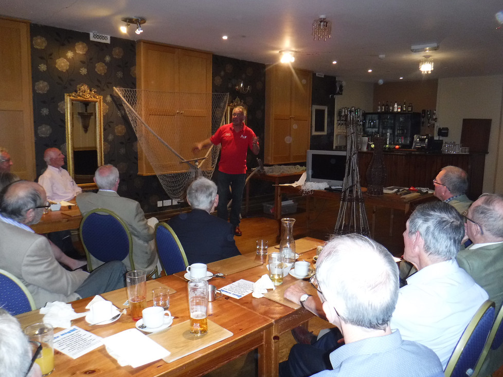 A talk lave net fishery for Berkley Rotary club .