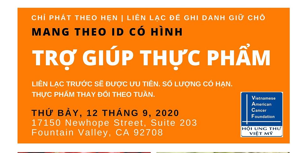 Trợ Giúp Thực Phẩm (Food Distribution), September 12, 2020