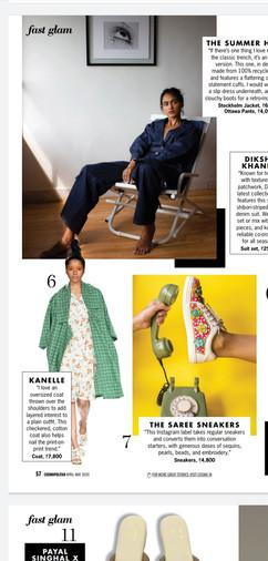 Cosmopolitan Magazine Feature