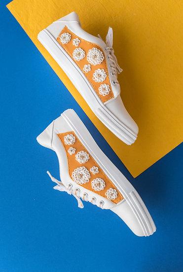Haldi Yellow Genda Sneakers