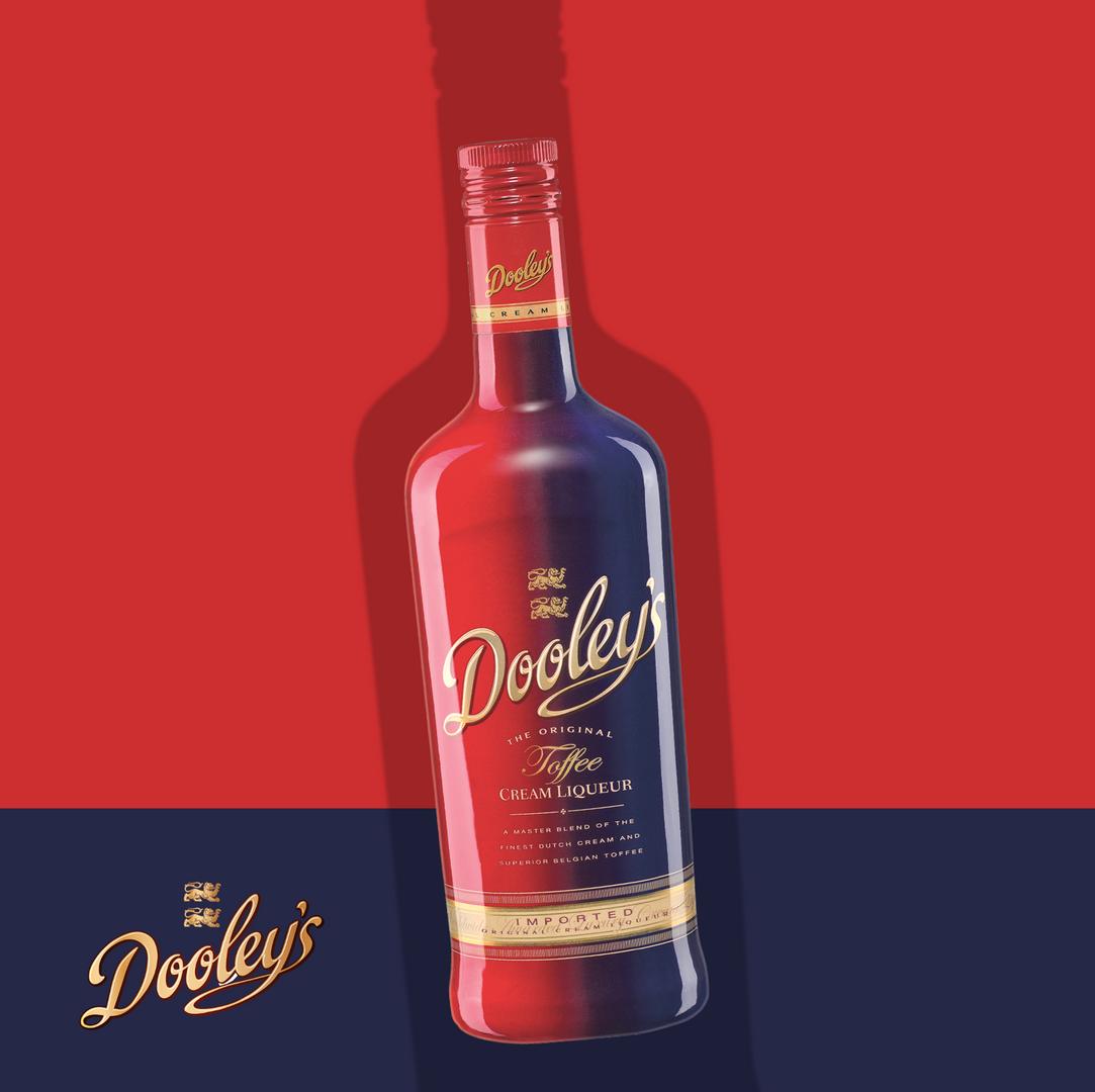 Dooley's Cream Liqueurs. The Original Toffee Vodka Liqueur