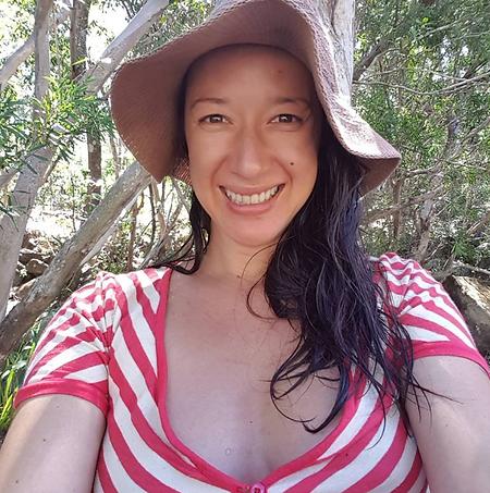 Kathy Popplewell. Wild Woman Dreaming Me