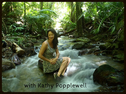 Kathy Popplewell, Wild Woman Dreaming Medicine Woman