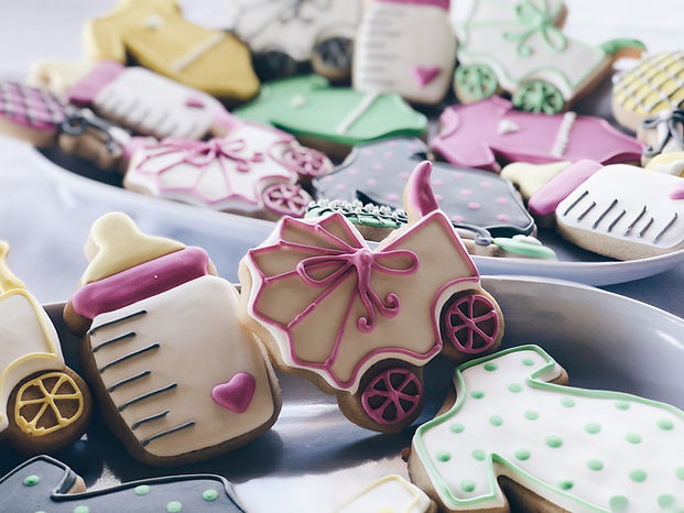 Baby Shower Cookies, Minor Bakery