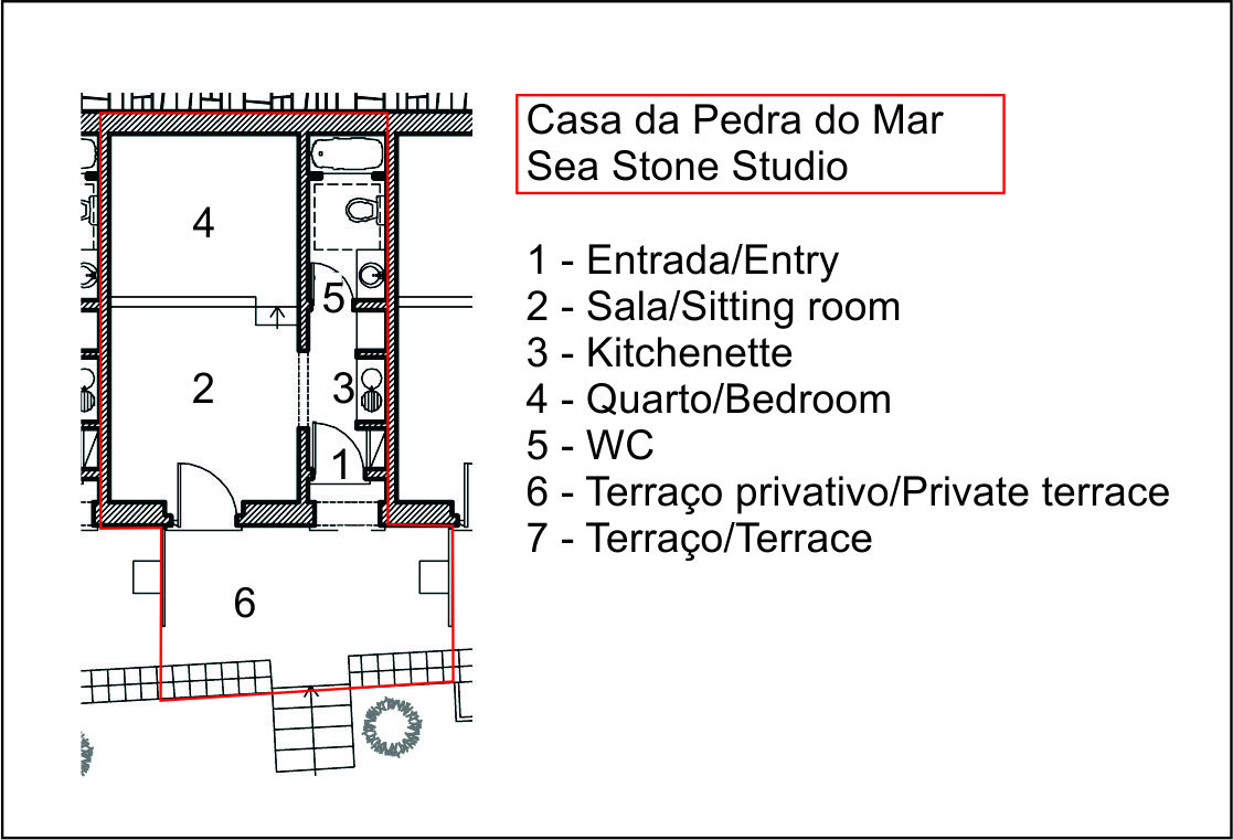 Casa da Pedra do Mar - Sea Stone Studio