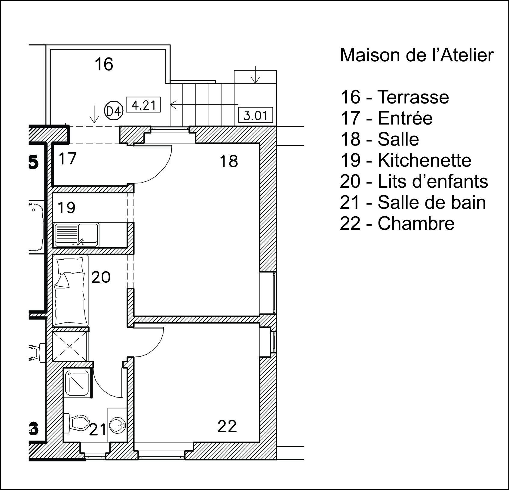 Casa Atelier - Planta