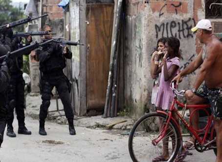 """""""The favela (slum) is a field of extermination of black people,"""" says Rio-based community leader"""