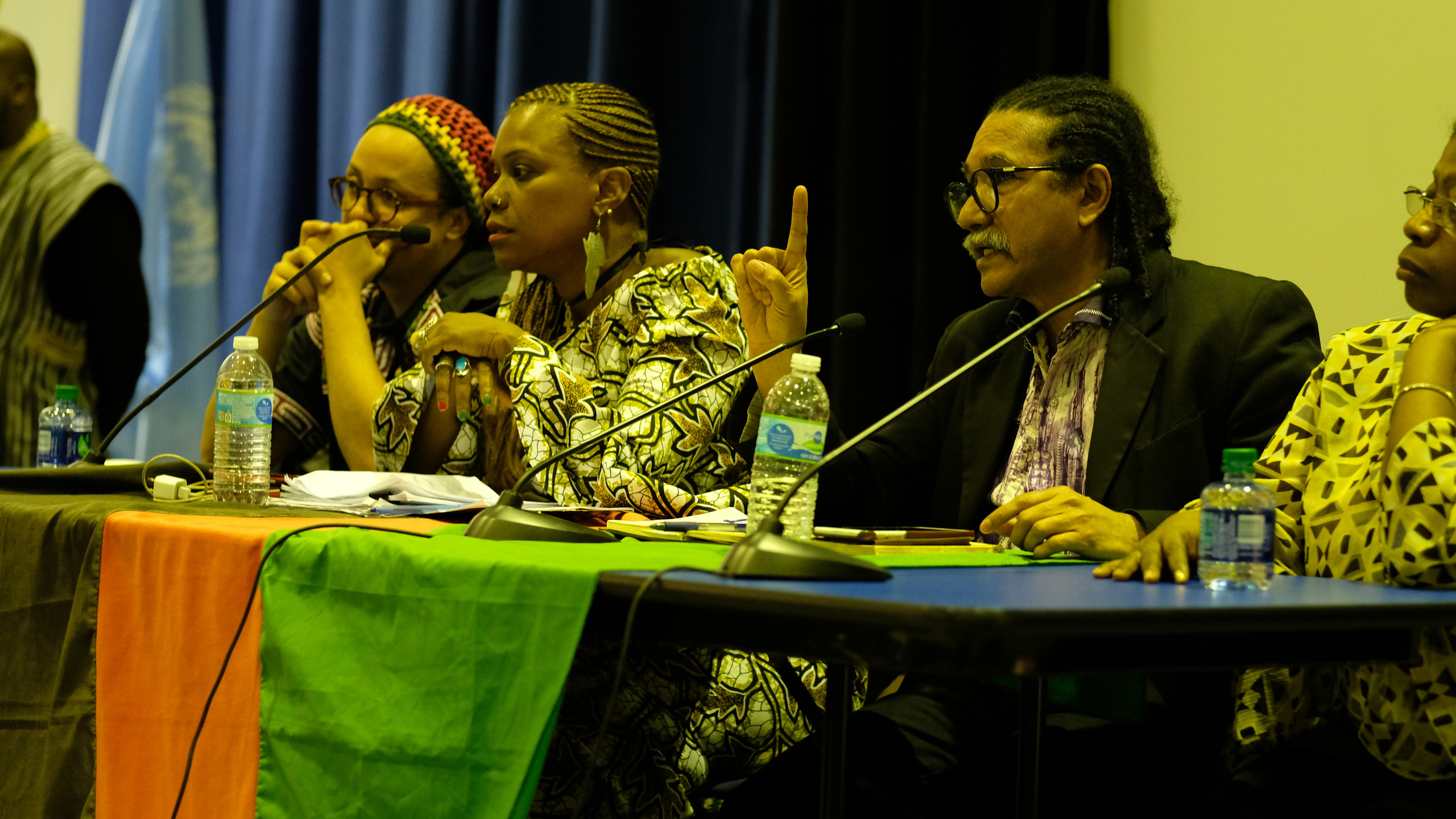 ARAAC EEUU founding members challenged themselves and the audience to build an collective African agenda.