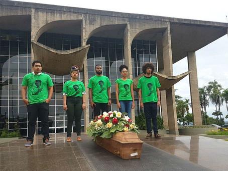 Anistia Internacional pede redução de homicídios de negros em ato no DF