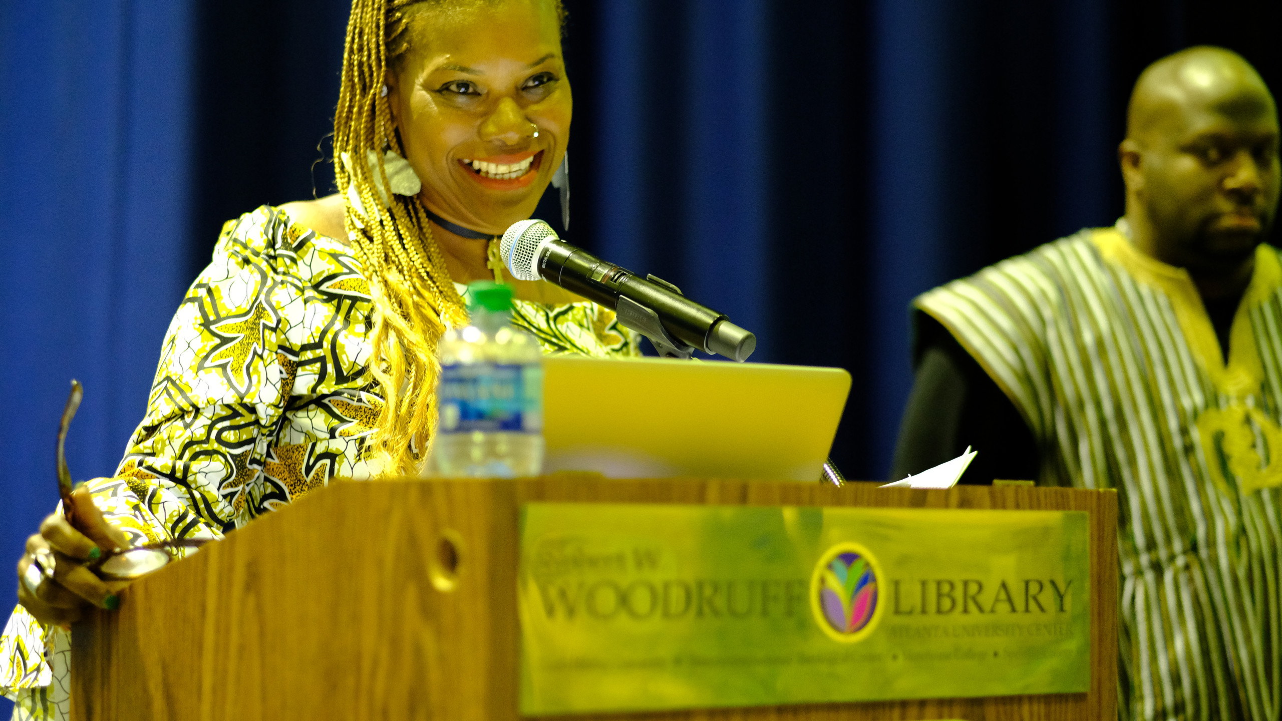 Yvette Modesting, Founding ARAAC member keynoted the event. Audience was invited to work with ARAAC or other organizations that are fighting for the liberation of African people in the Americas.