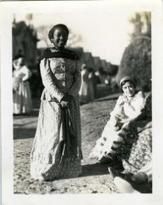 African-Argentinean woman in Argentina c.late 30s early 40s