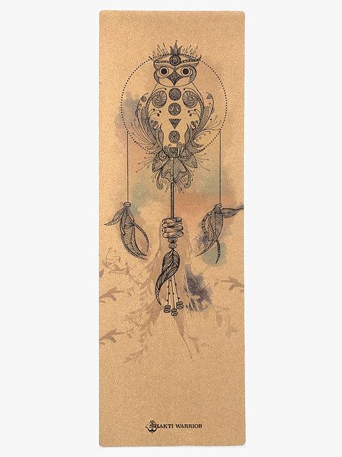 Shakti Warrior Satya Pro Yoga Mat (Owl Dream Catcher Image)