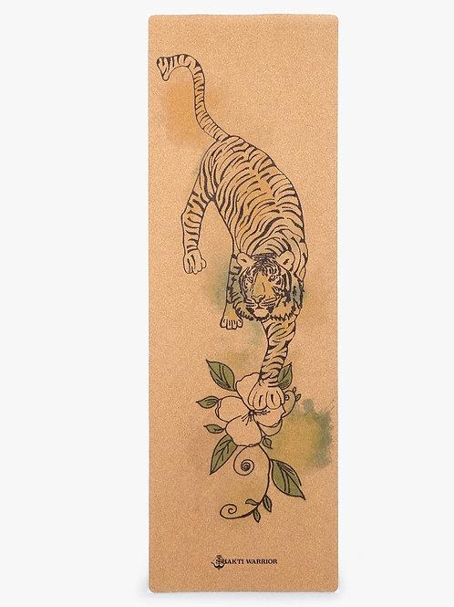 Shakti Warrior ShivShakti Pro Yoga Mat (Tiger Image)