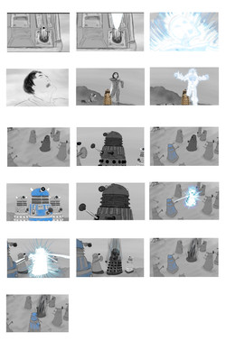Doctor Who FA: The Silver Spoon - Dalek attack pt. 2