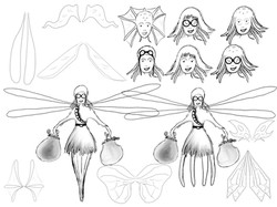 'Octowoman' - further re-designs