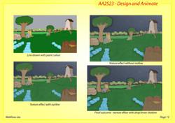 Background development