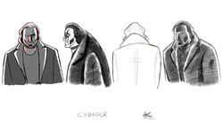 Cybrock - different pencil style