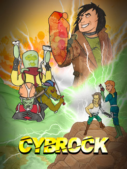 Cybrock issue cover