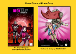 Redesign - Neon Fire and Rona Gray