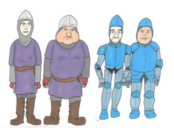 Character Design (Guards)